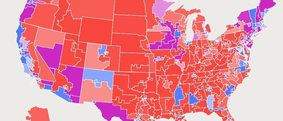 FiveThirtyEight's Atlas of Redistricting Map